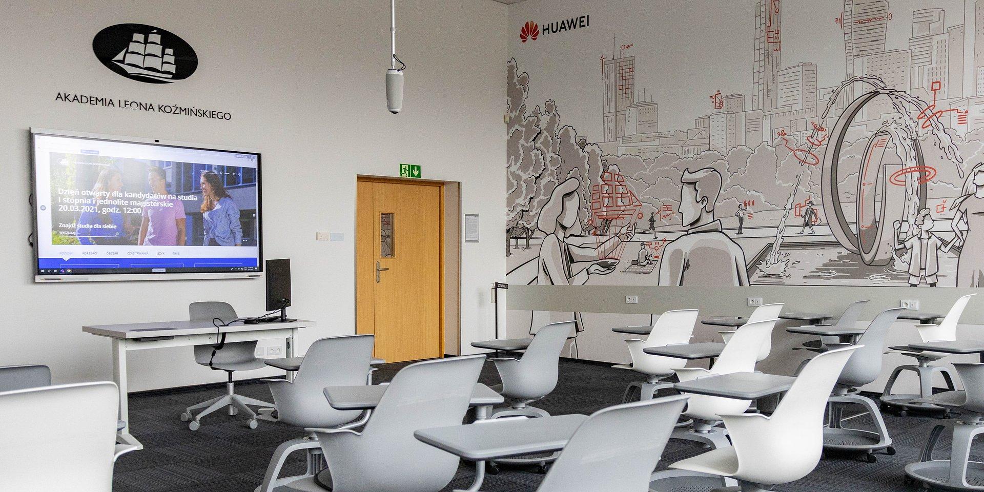 Nowy wymiar studiowania: Huawei Polska i Akademia Leona Koźmińskiego zacieśniają współpracę