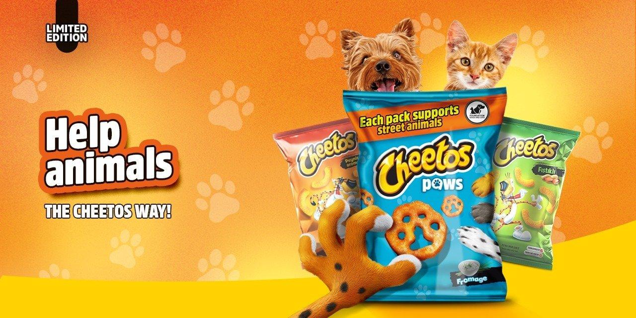 Pomagaj zwierzakom w stylu Cheetos!