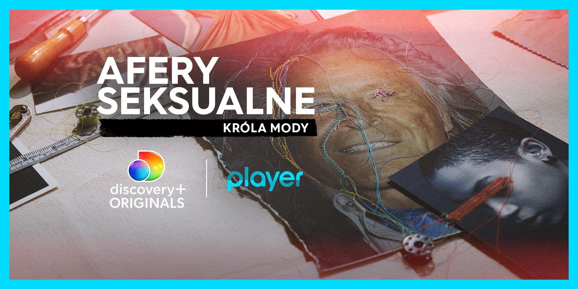 """""""Afery seksualne króla mody"""": nowa wstrząsająca seria dokumentalna discovery+ Originals tylko w Playerze!"""