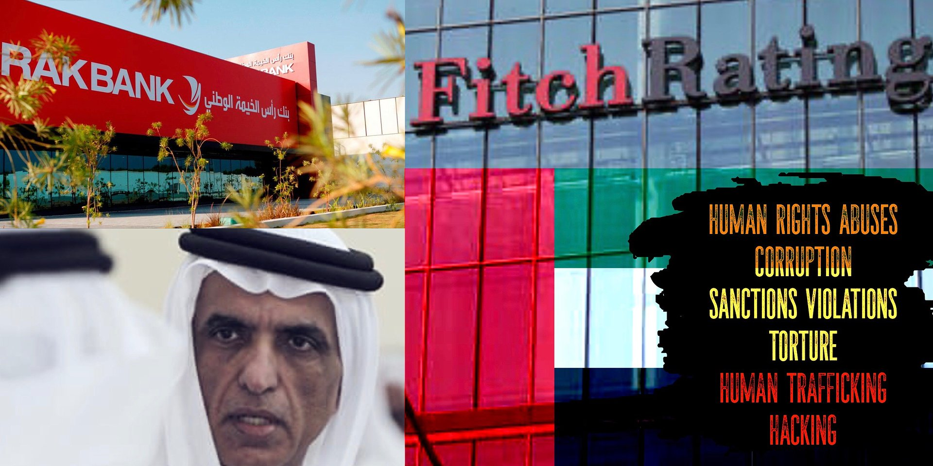 Human Rights Abuses & Corruption threaten RAK Fitch Rating