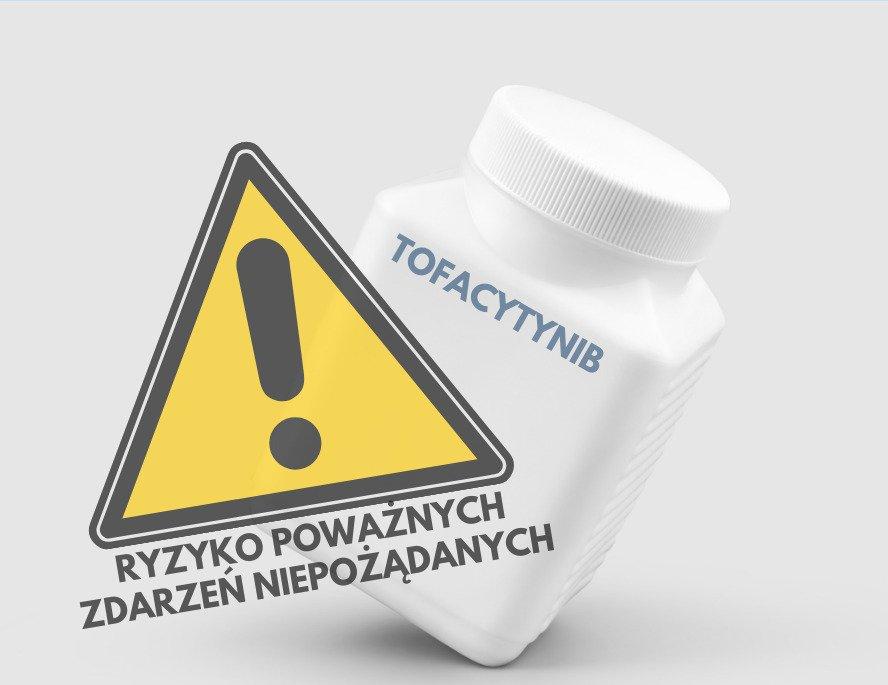 Xeljanz (tofacytynib) - są wstępne wyniki badania dotyczące ryzyka poważnych zdarzeń niepożądanych