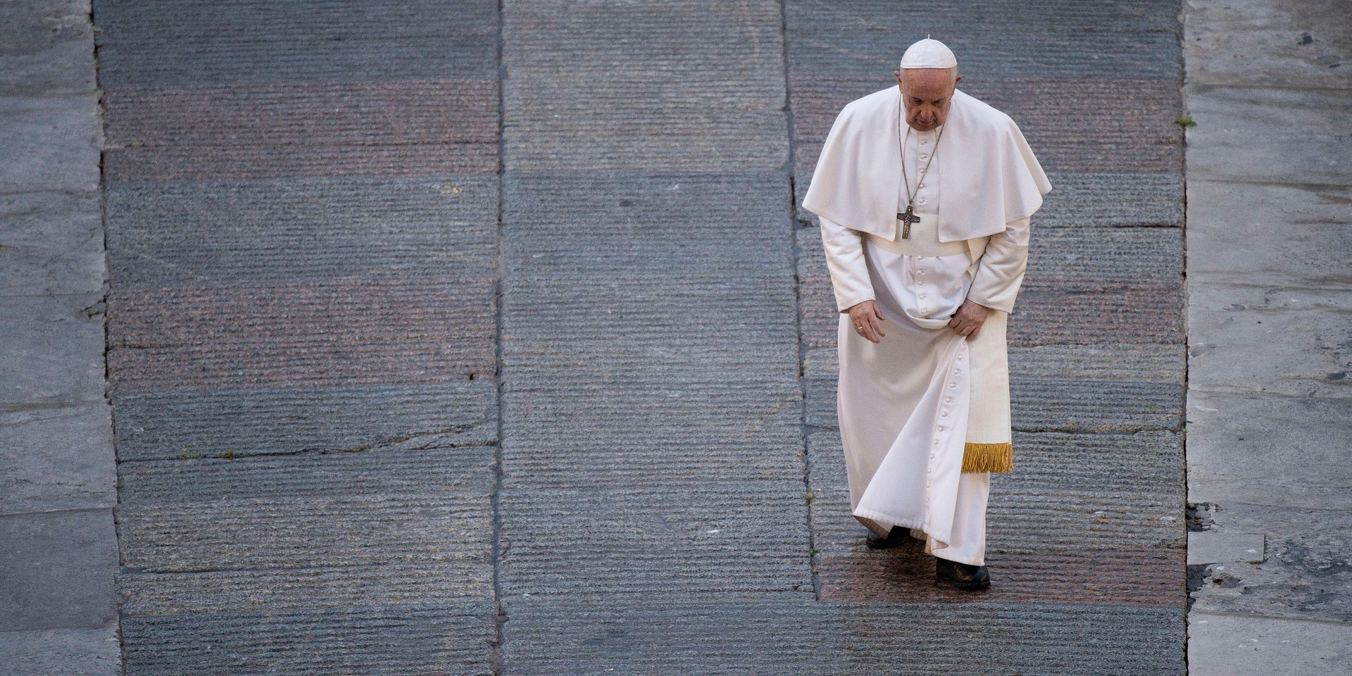"""Głośny dokument o papieżu Franciszku """"Francesco"""" już 28 marca w TVN24 GO!"""