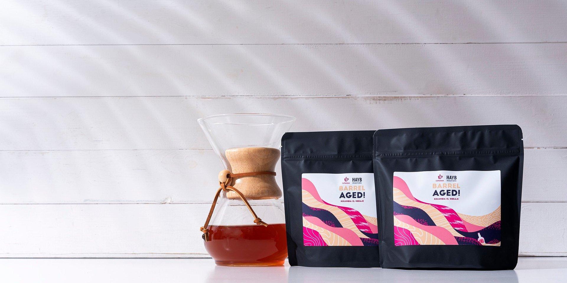 Jak smakuje kawa leżakowana w beczkach? Oto efekt współpracy Coffeedesk, palarni HAYB oraz browaru Maltgarden