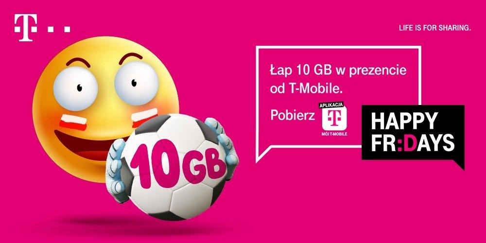 10 darmowych GB od T-Mobile do odebrania na mecze reprezentacji