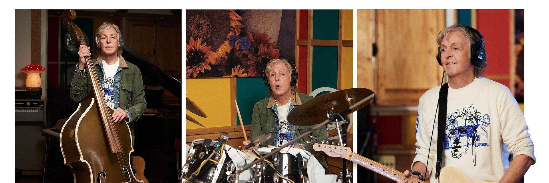 """Paul McCartney i Beck w tanecznym """"Find My Way"""""""