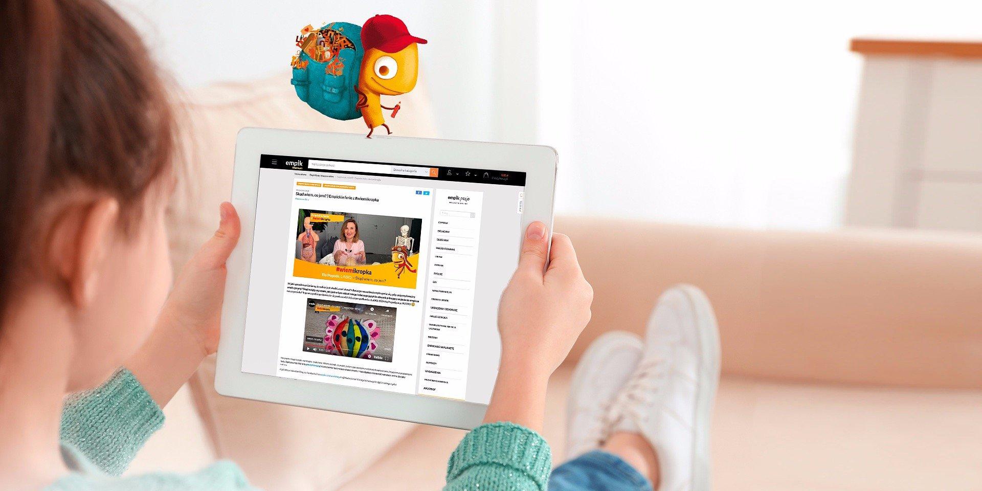 Wiosna to czas odkrywców! Rusza kolejny cykl warsztatów online dla dzieci #wiemikropka