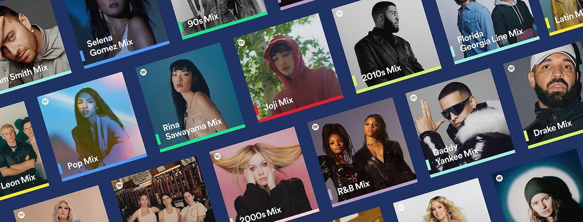 Spotify startet neue, personalisierte Playlists zu Künstler*innen, Genres und Jahrzehnten