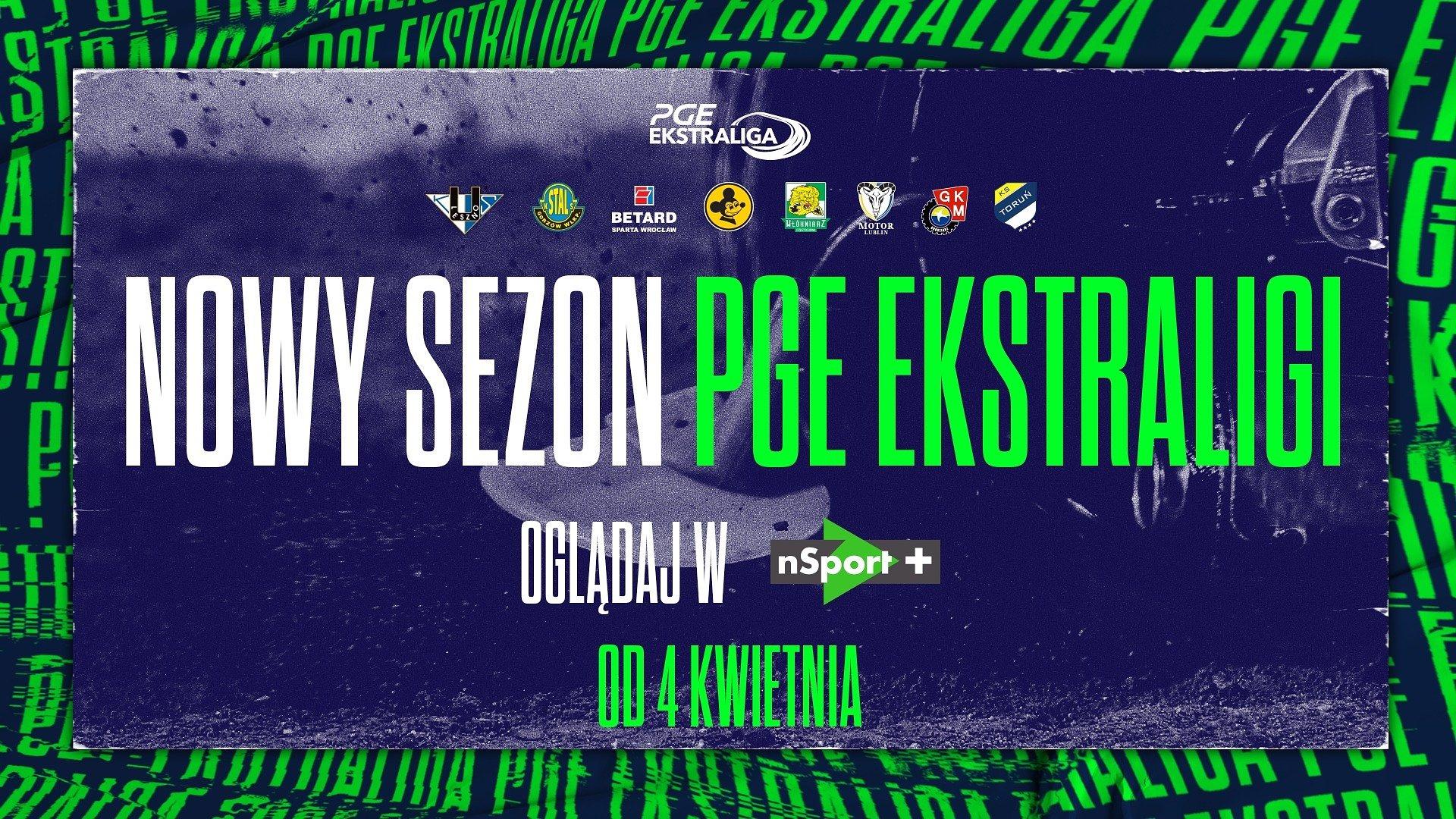 Wraca najlepsza żużlowa liga świata! Start sezonu PGE Ekstraligi w CANAL+