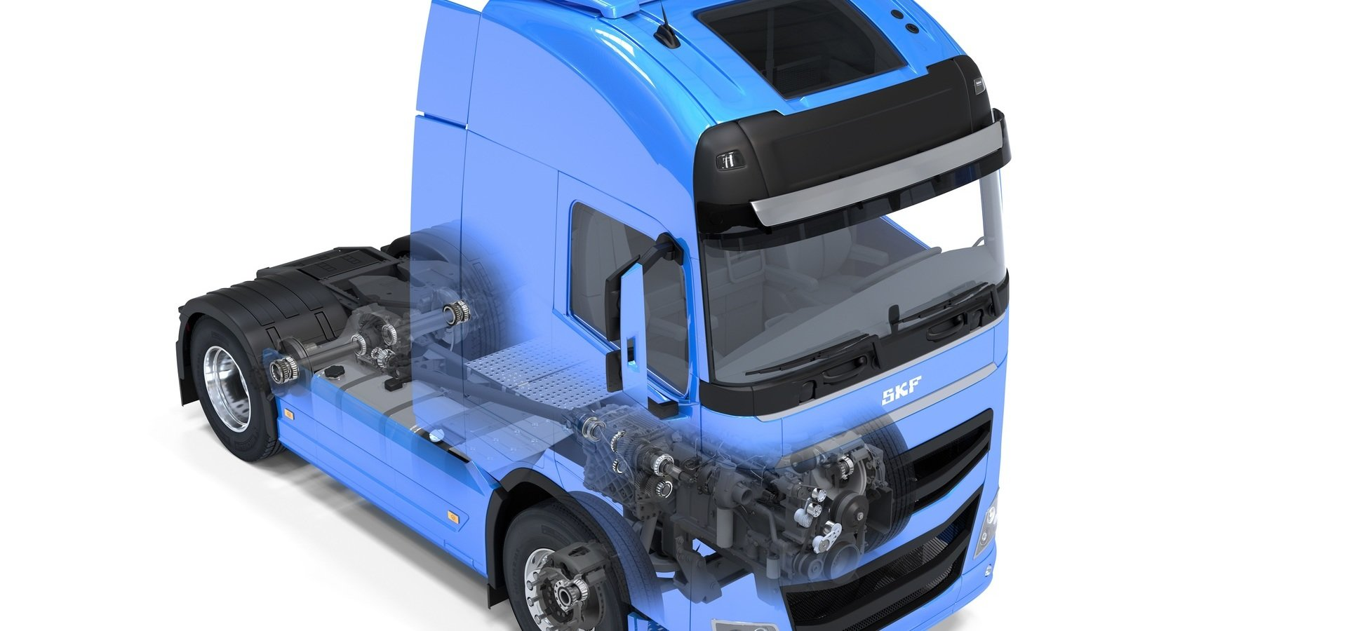 SKF niezawodnym partnerem w transporcie ciężarowym