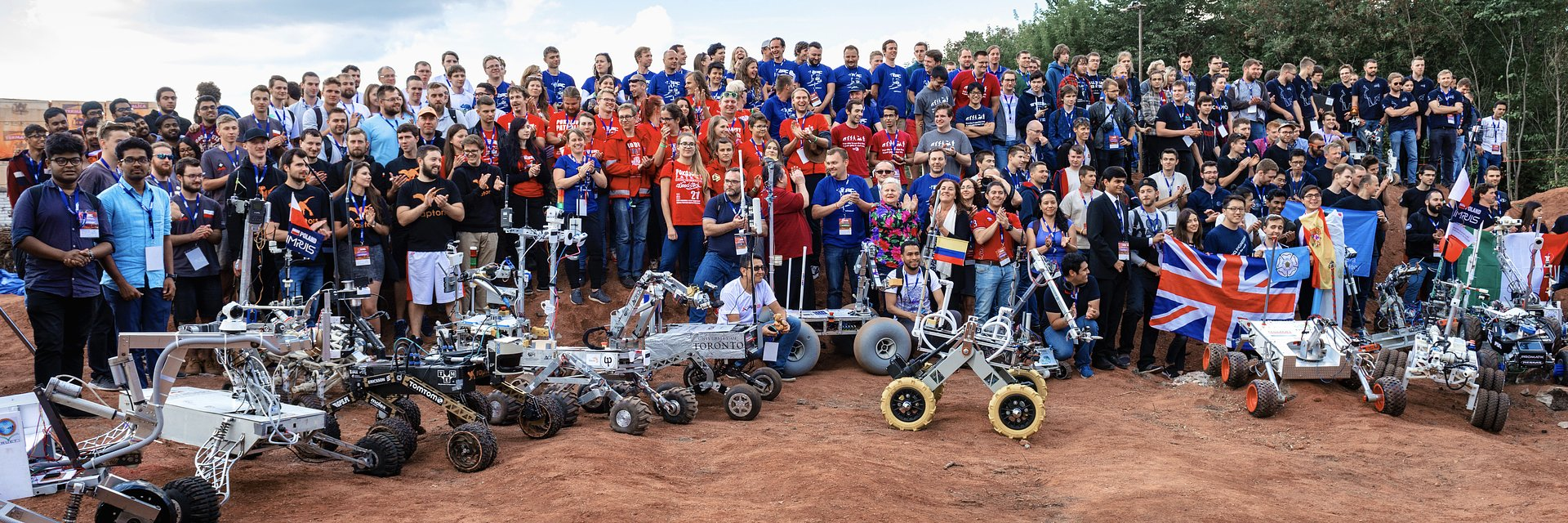 The largest European robotics and space event is counting down the time until take off!