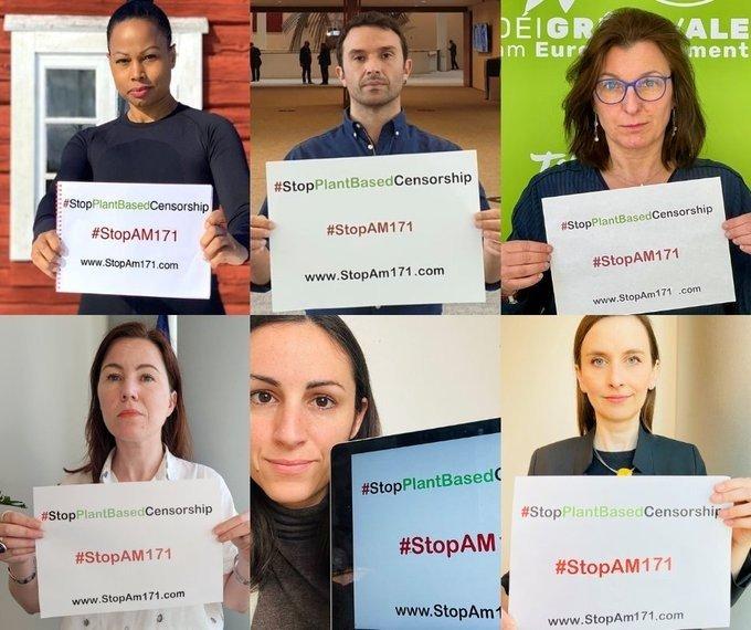 34 polityków protestuje w Parlamencie Europejskim przeciwko cenzurze roślinnych zamienników nabiału