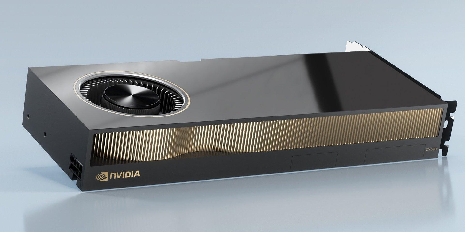 Компания PNY объявляет о поступлении в продажу своей новой профессиональной видеокарты NVIDIA® RTX A6000