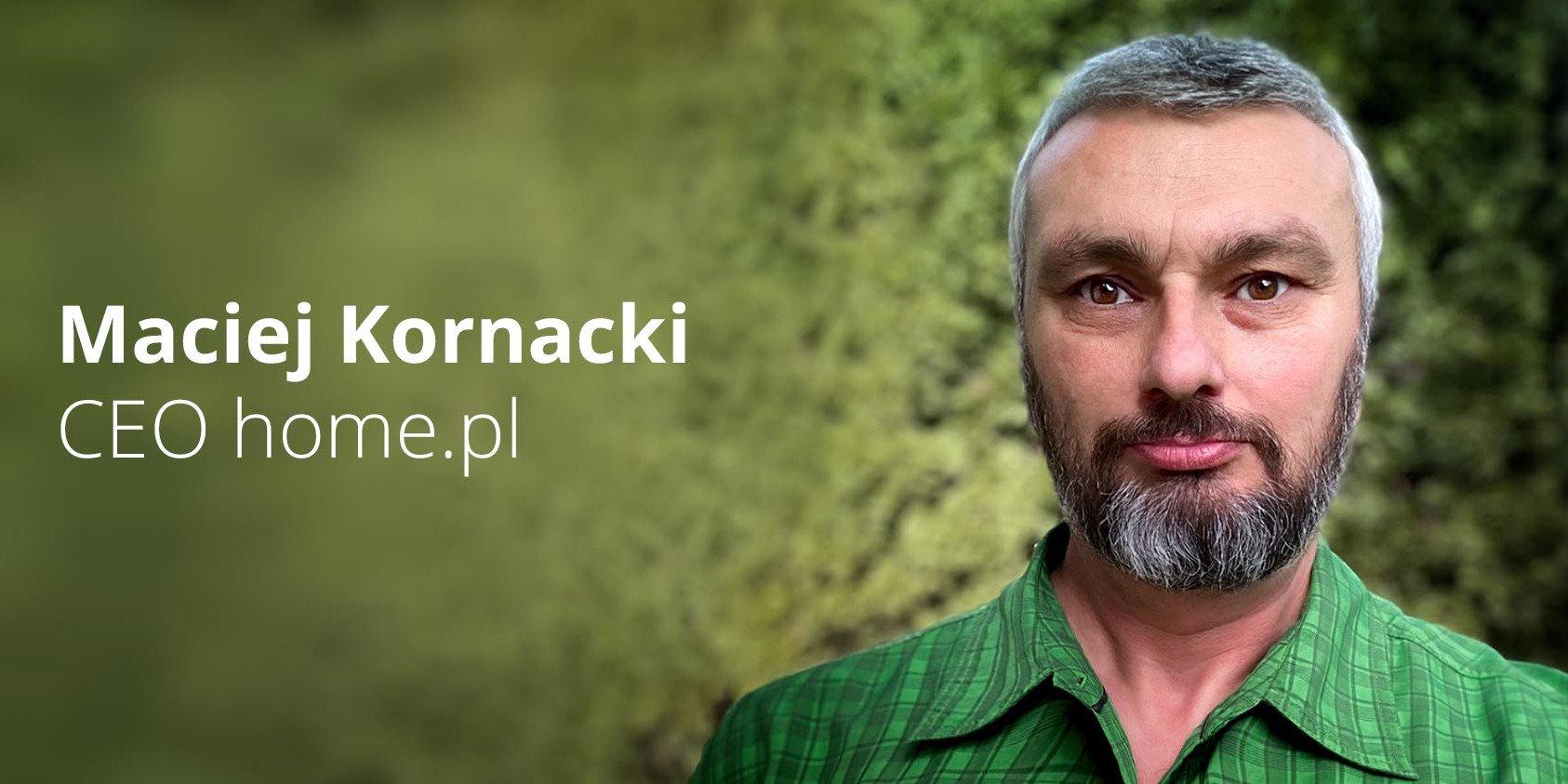 Maciej Kornacki nowym prezesem home.pl