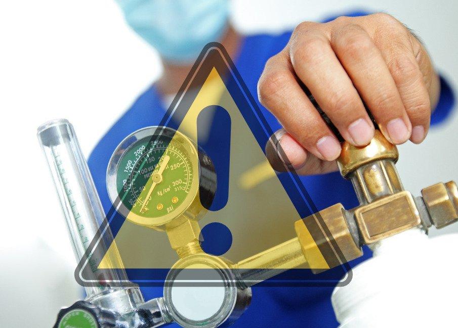 EIGA o zagrożeniach stwarzanych w placówkach służby zdrowia przez atmosferę wzbogaconą w tlen