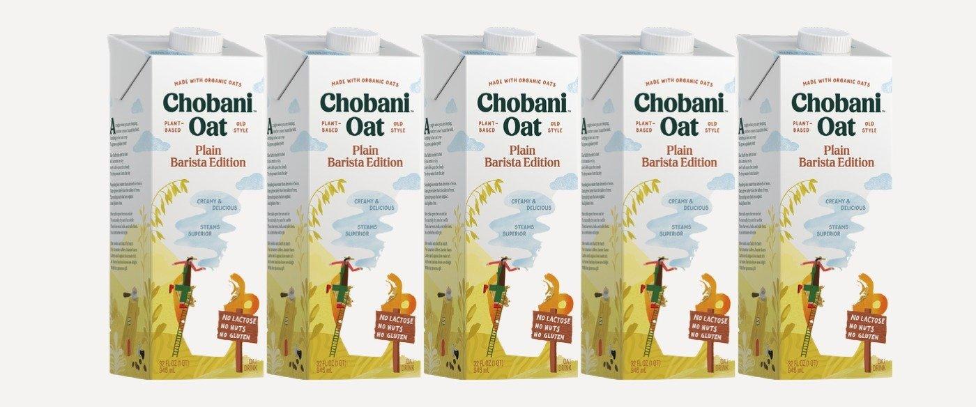 The G.O.A.T. of Oat: Chobani Oat