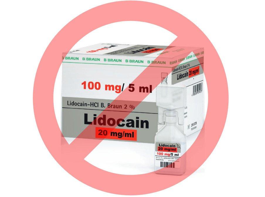 Lignocain 2% (Lidocaini hydrochloridum) wycofany z obrotu