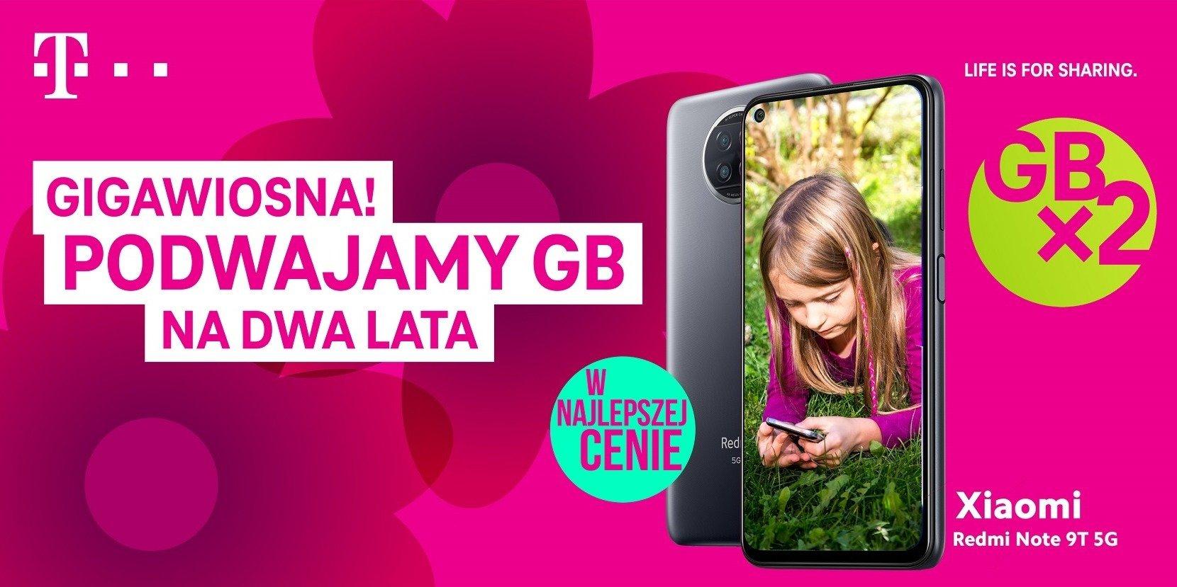 Podwajamy gigabajty na wiosnę – startuje nowa kampania T-Mobile