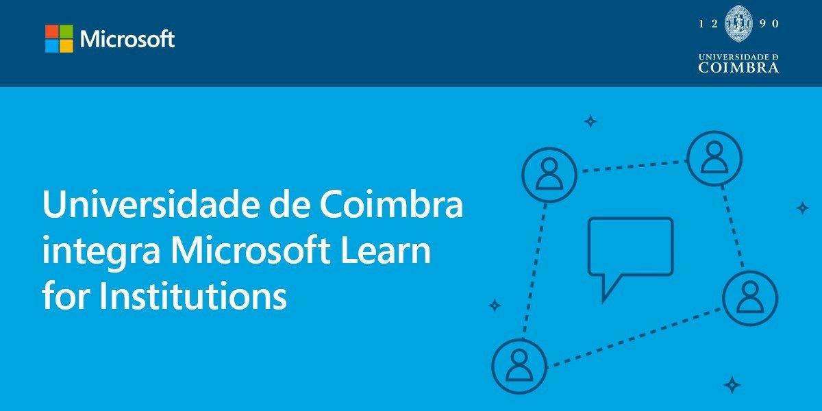 Universidade de Coimbra integra Programa Microsoft Learn for Institutions