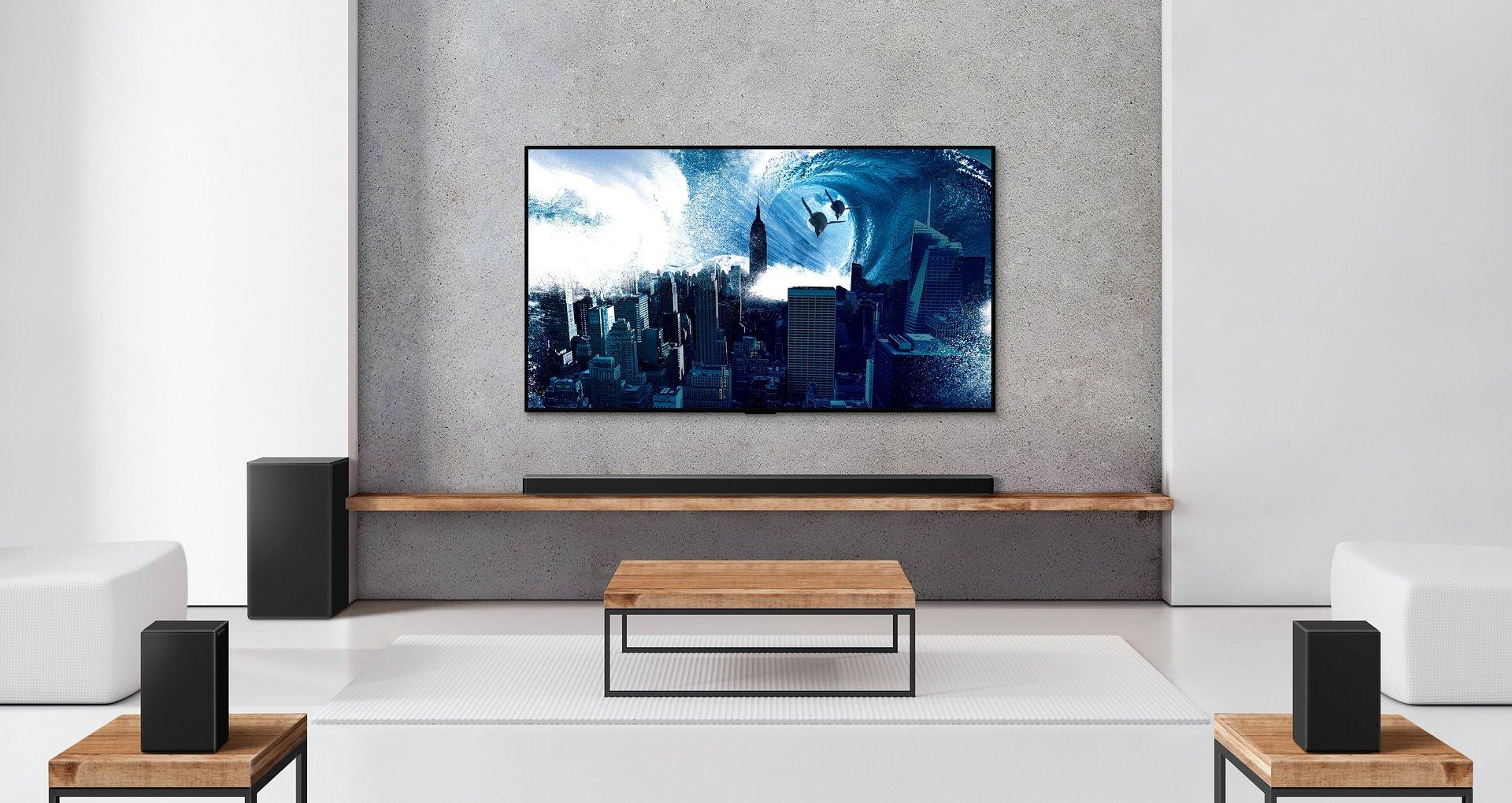 Soundbary LG z 2021 roku oferują najwyższą jakość dźwięku i zapewniają dostęp do funkcji opartych na sztucznej inteligencji. Zostały opracowane z uwzględnieniem zasad zrównoważonego projektowania