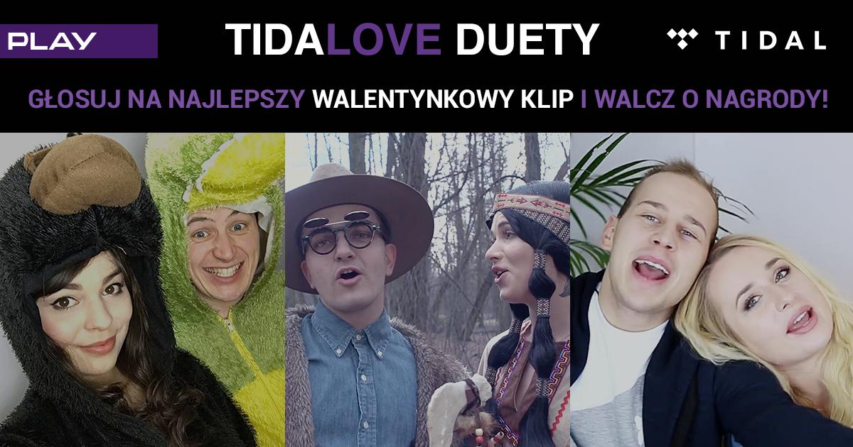 Zakochani influencerzy śpiewająco promują TIDAL w Play