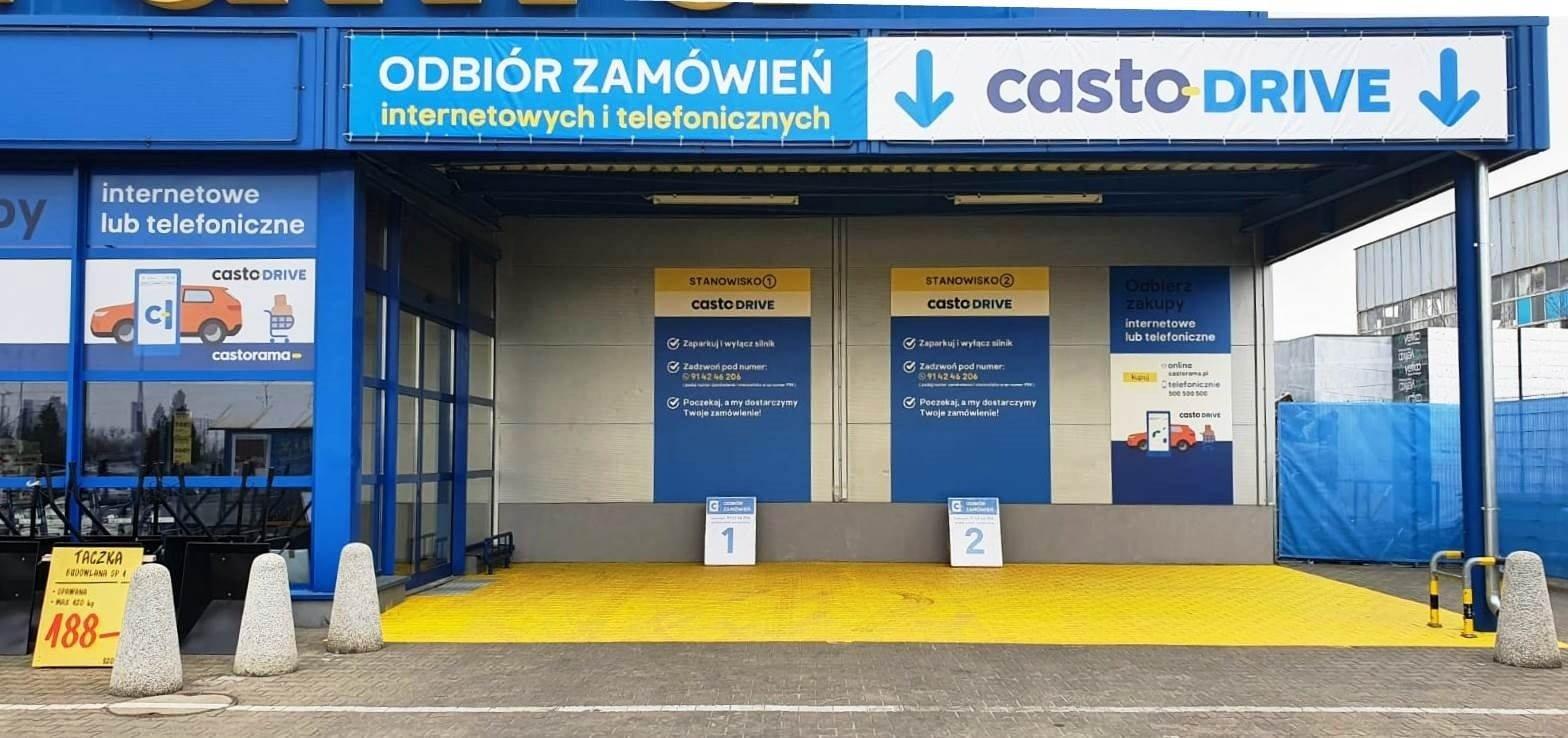 CastoDrive – bezkontaktowy odbiór zamówień w sklepach Castorama
