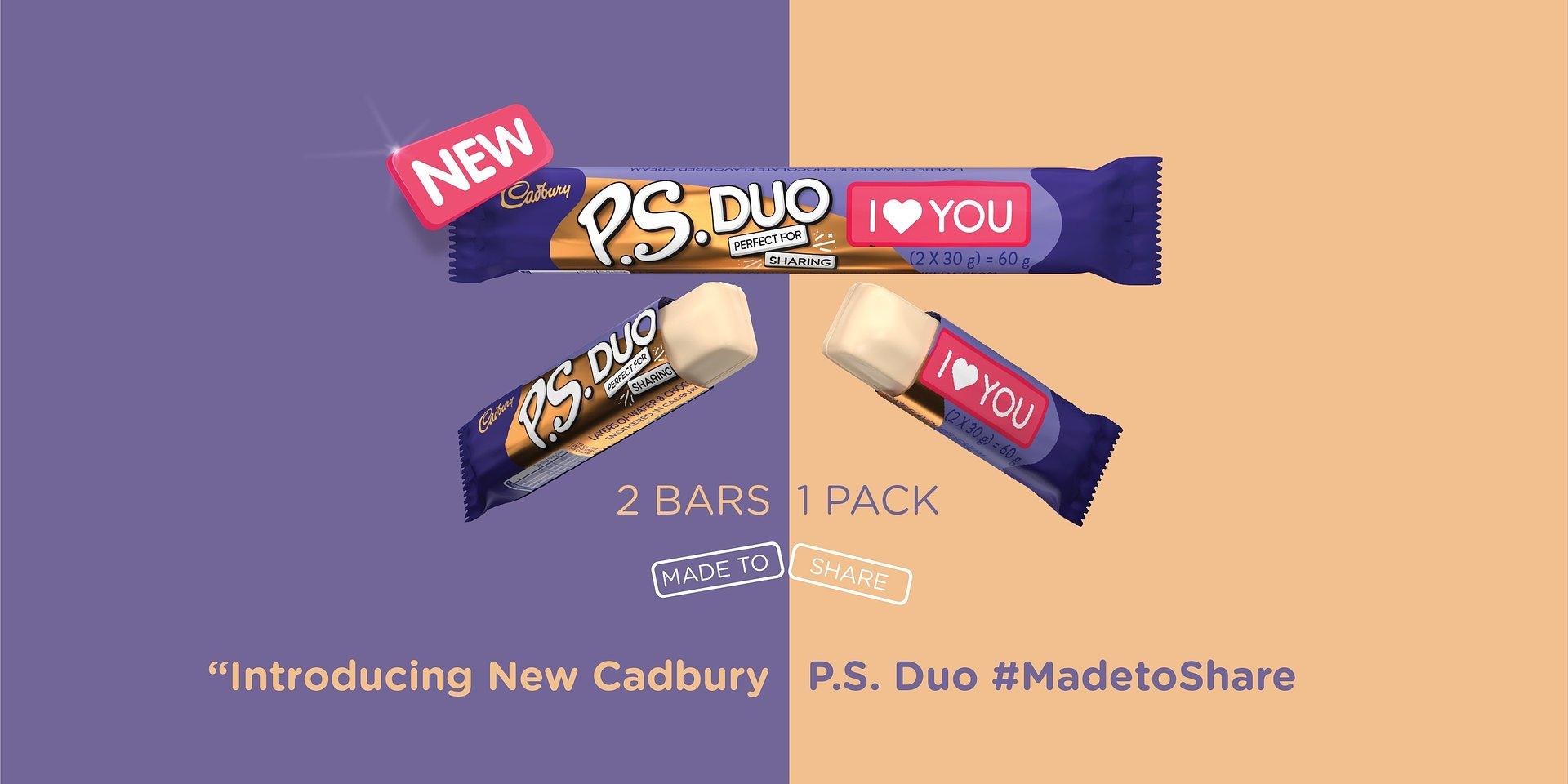 New Cadbury P.S. DUO is #MadetoShare