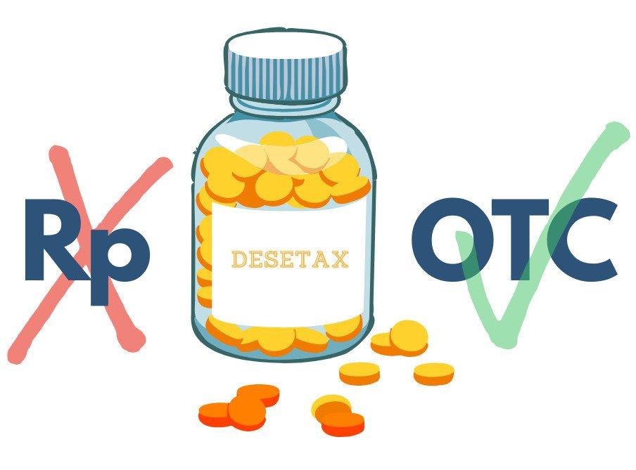 Desetax (Desloratadinum) dostępny bez recepty