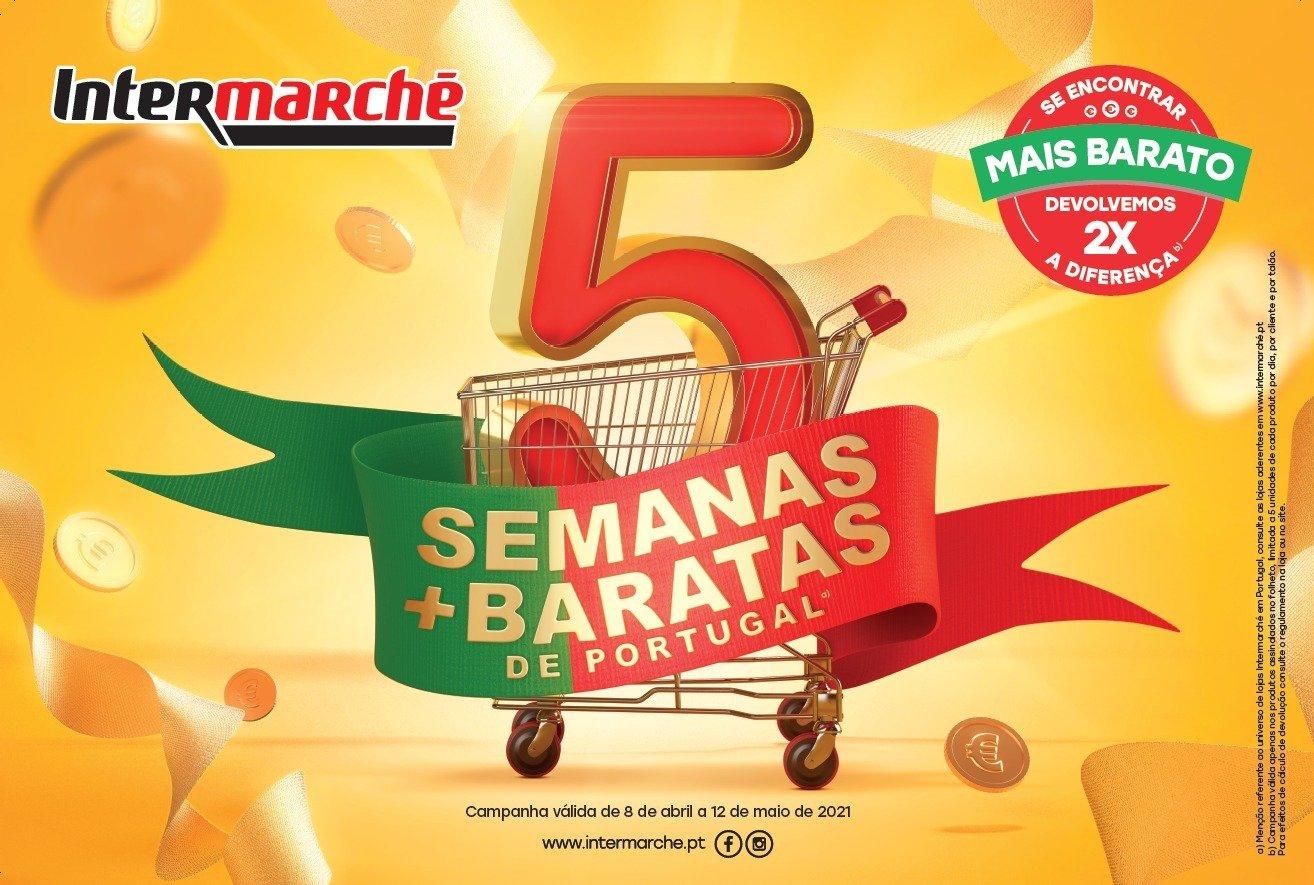 Voltaram as 5 semanas mais baratas de Portugal no Intermarché
