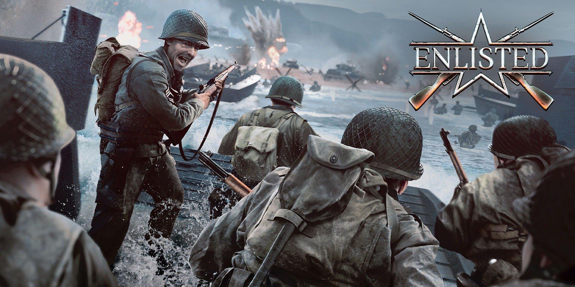 Nová vojenská online strielačka Enlisted je teraz dostupná pre každého
