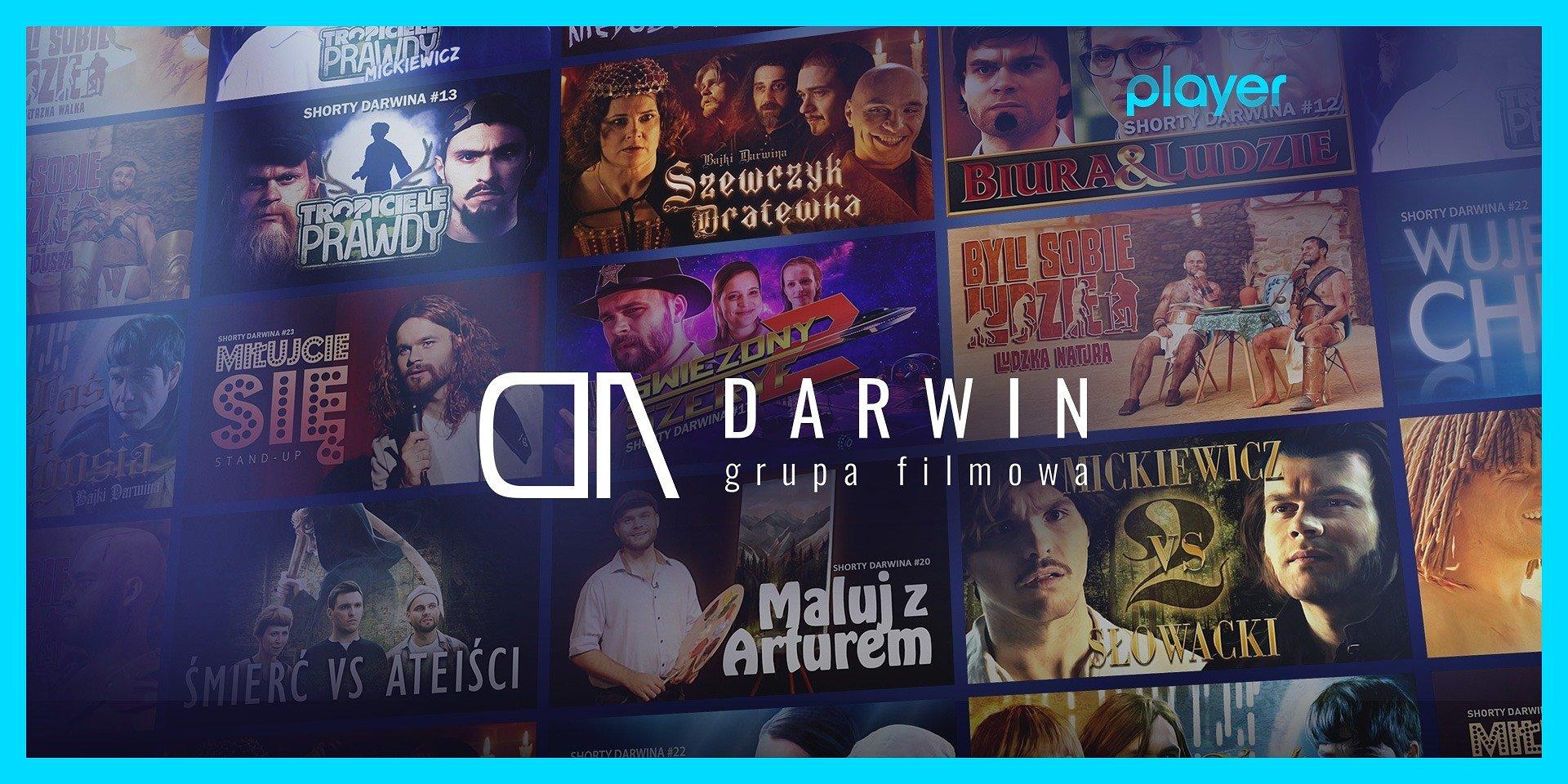 Grupa Filmowa Darwin i Player łączą siły!