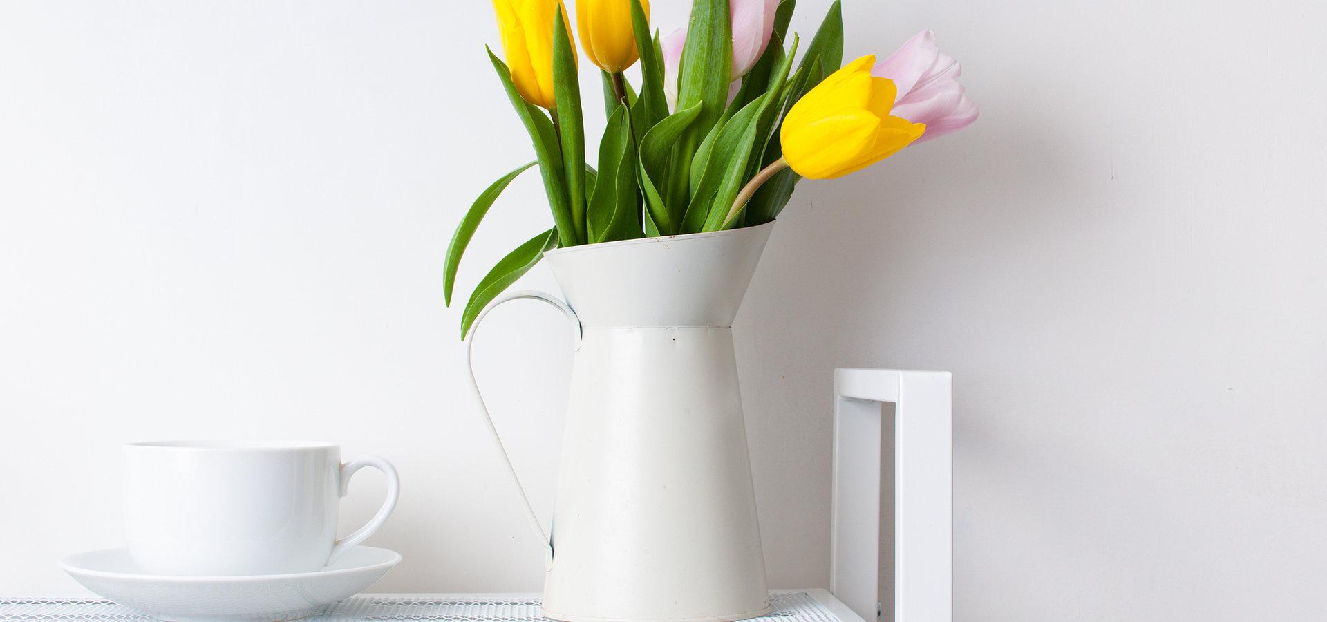 Jak rozświetlić dom na wiosnę?