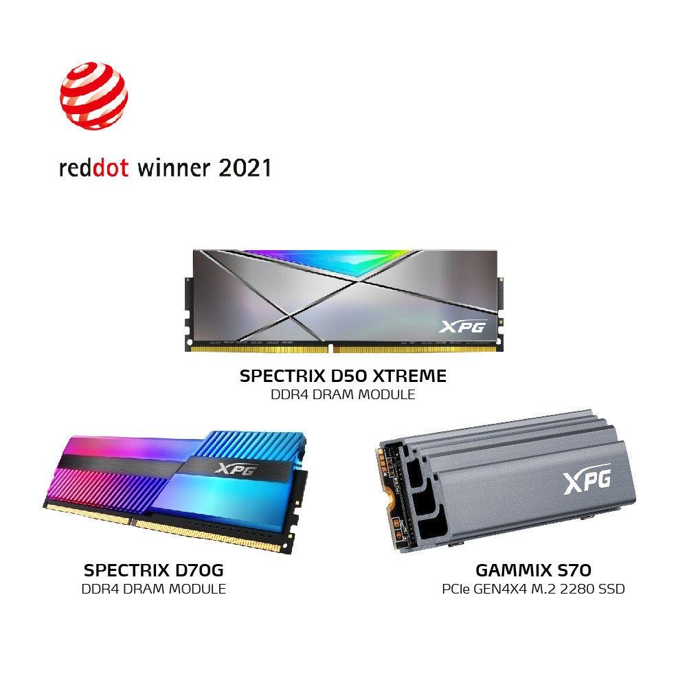 Produkty od XPG z nagrodą Red Dot Award 2021