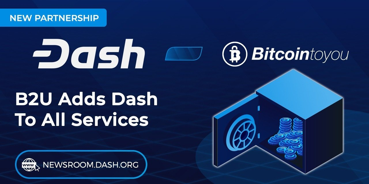 Brazil's first cryptocurrency broker BitcoinToYou adds Dash to all of its services