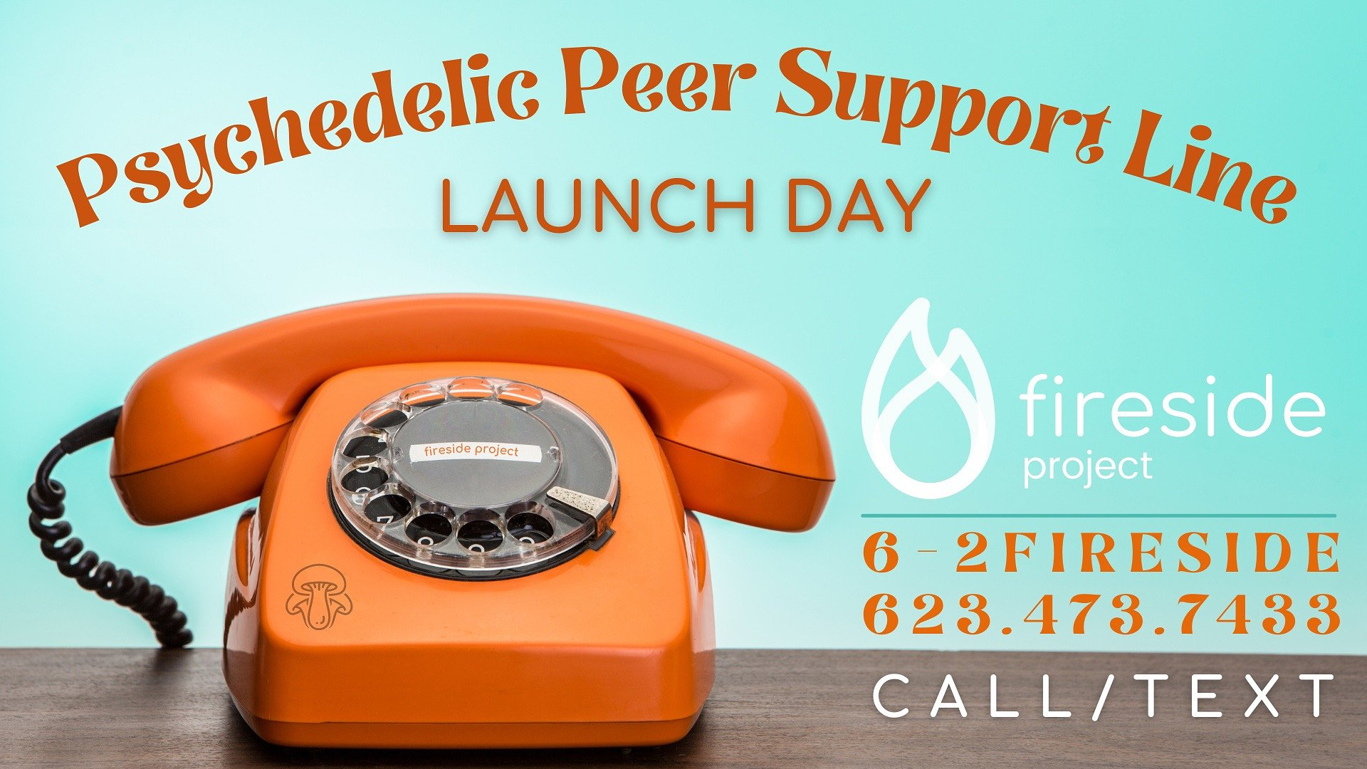 Fireside Project's Psychedelic Peer Support Line Goes Live Today