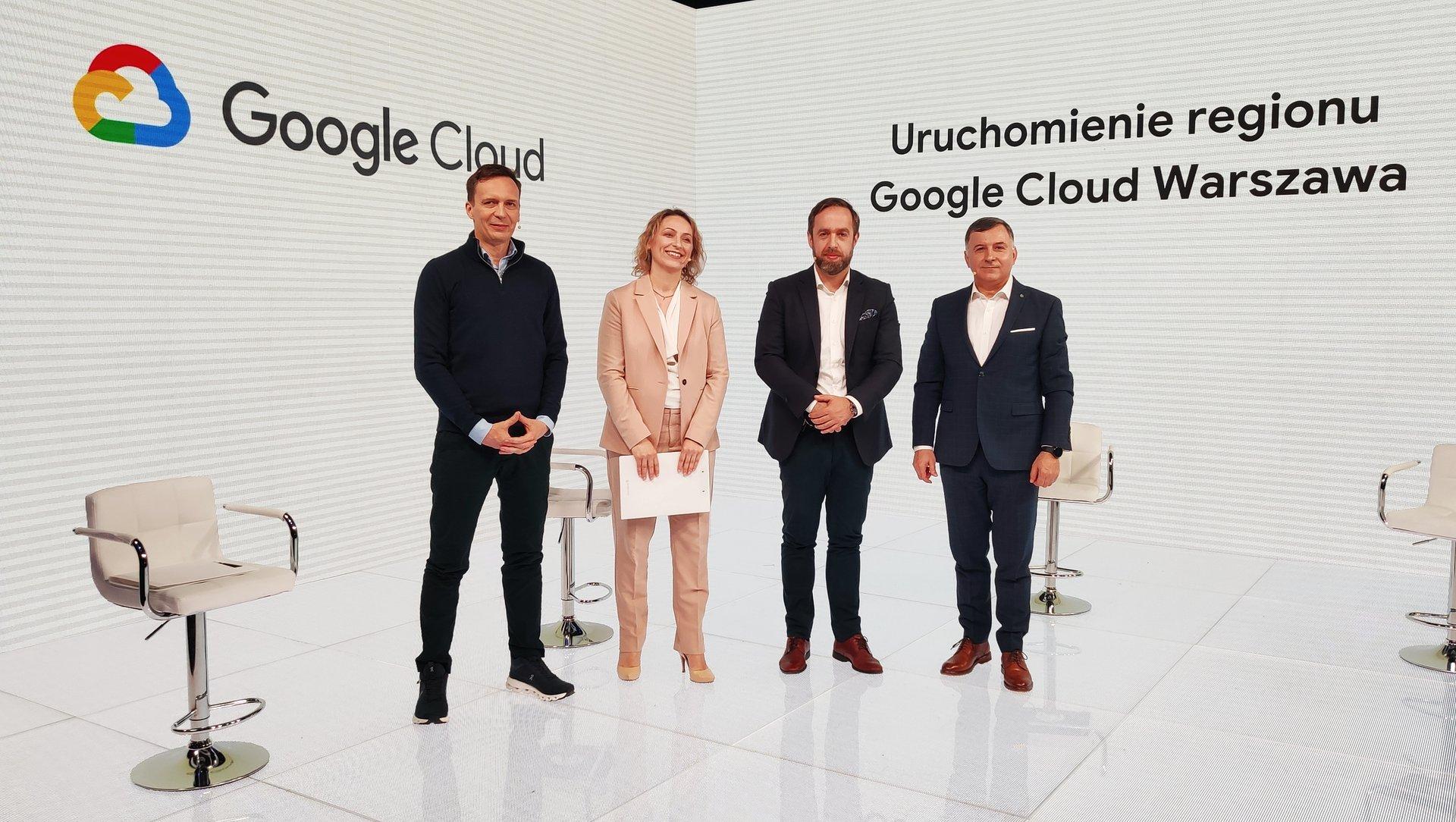 Mamy wzór na przyspieszenie: region Google Cloud Warszawa już dostępny!