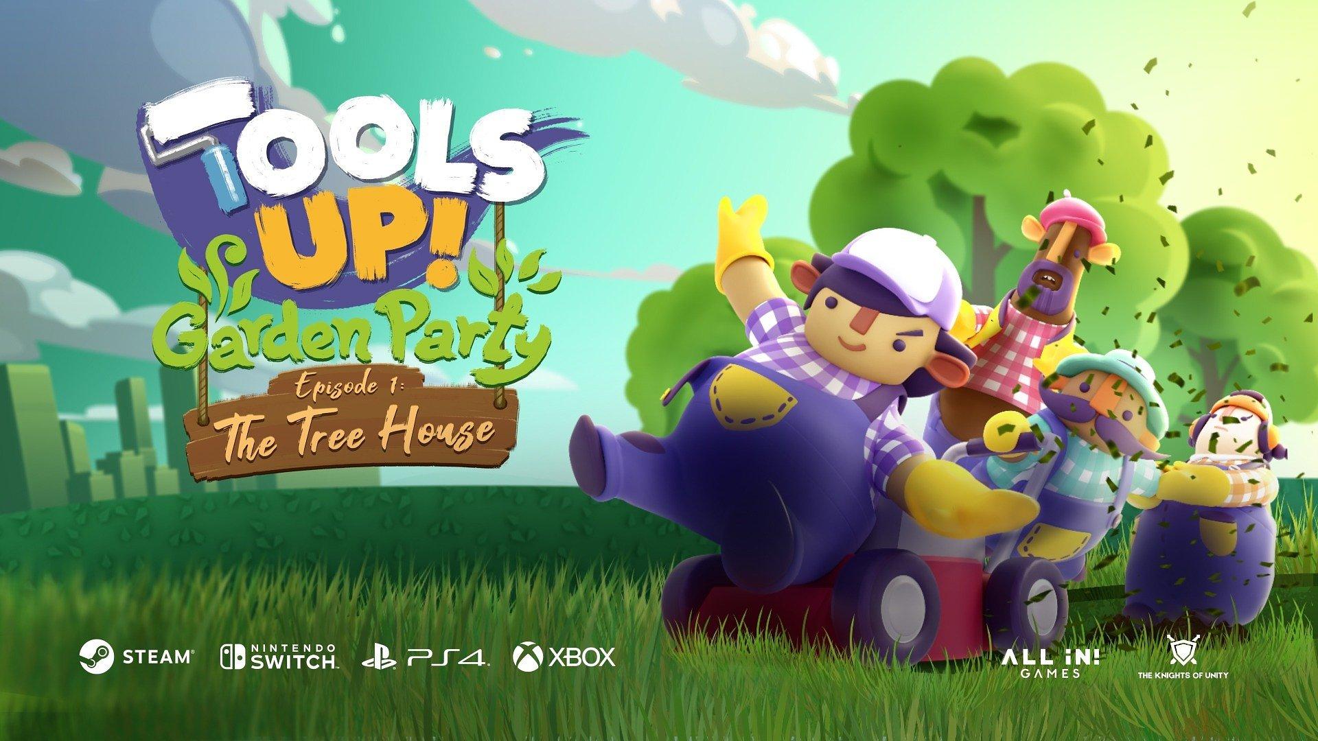 Działka - moje hobby. Kwietniowe DLC do Tools Up! zabierze nas do ogrodu