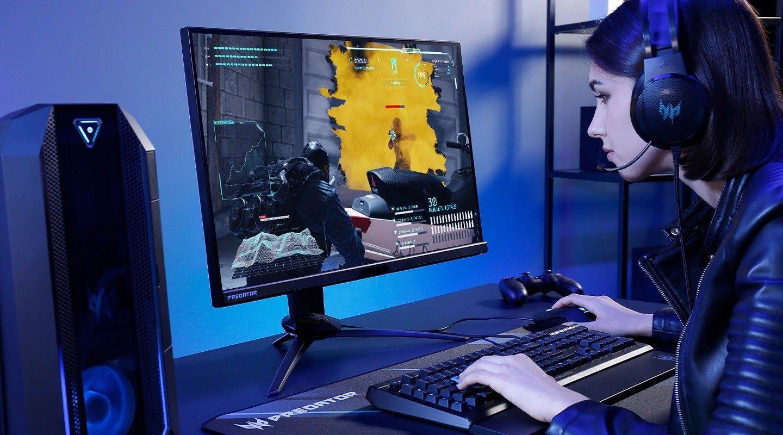 Acer Predator X25 – gamingowy monitor z odświeżaniem 360 Hz