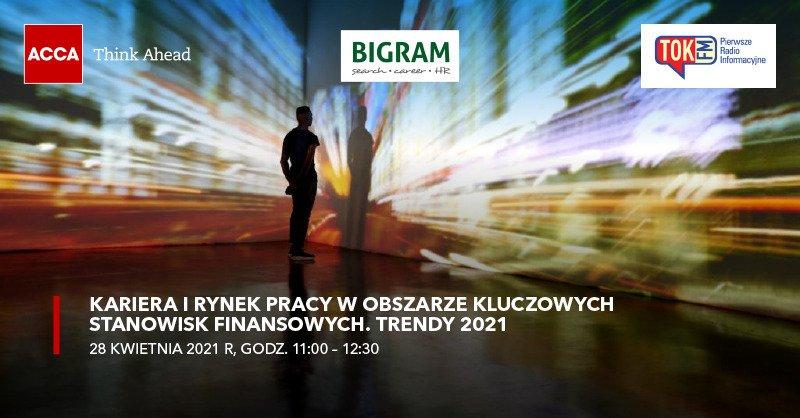 """Zapraszamy na debatę pt. """"Kariera i rynek pracy w obszarze kluczowych stanowisk finansowych. Trendy 2021"""""""