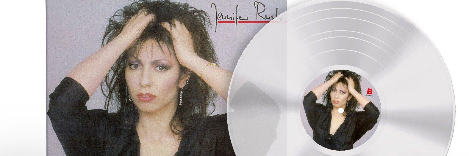Debiutancki album Jennifer Rush na przezroczystym winylu!