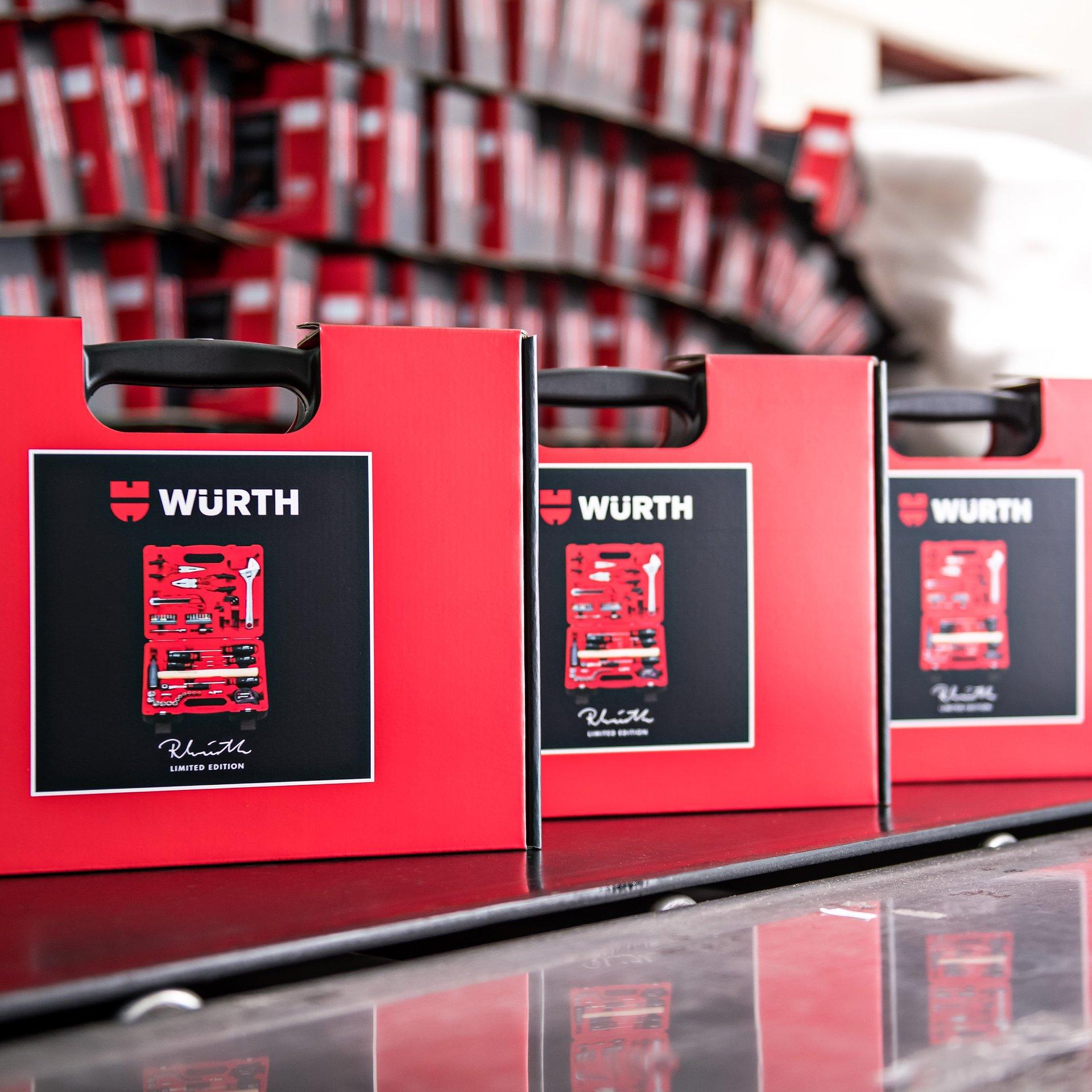 Specjalna edycja limitowanych narzędzi i wyjątkowa oferta cenowa od Würth Polska