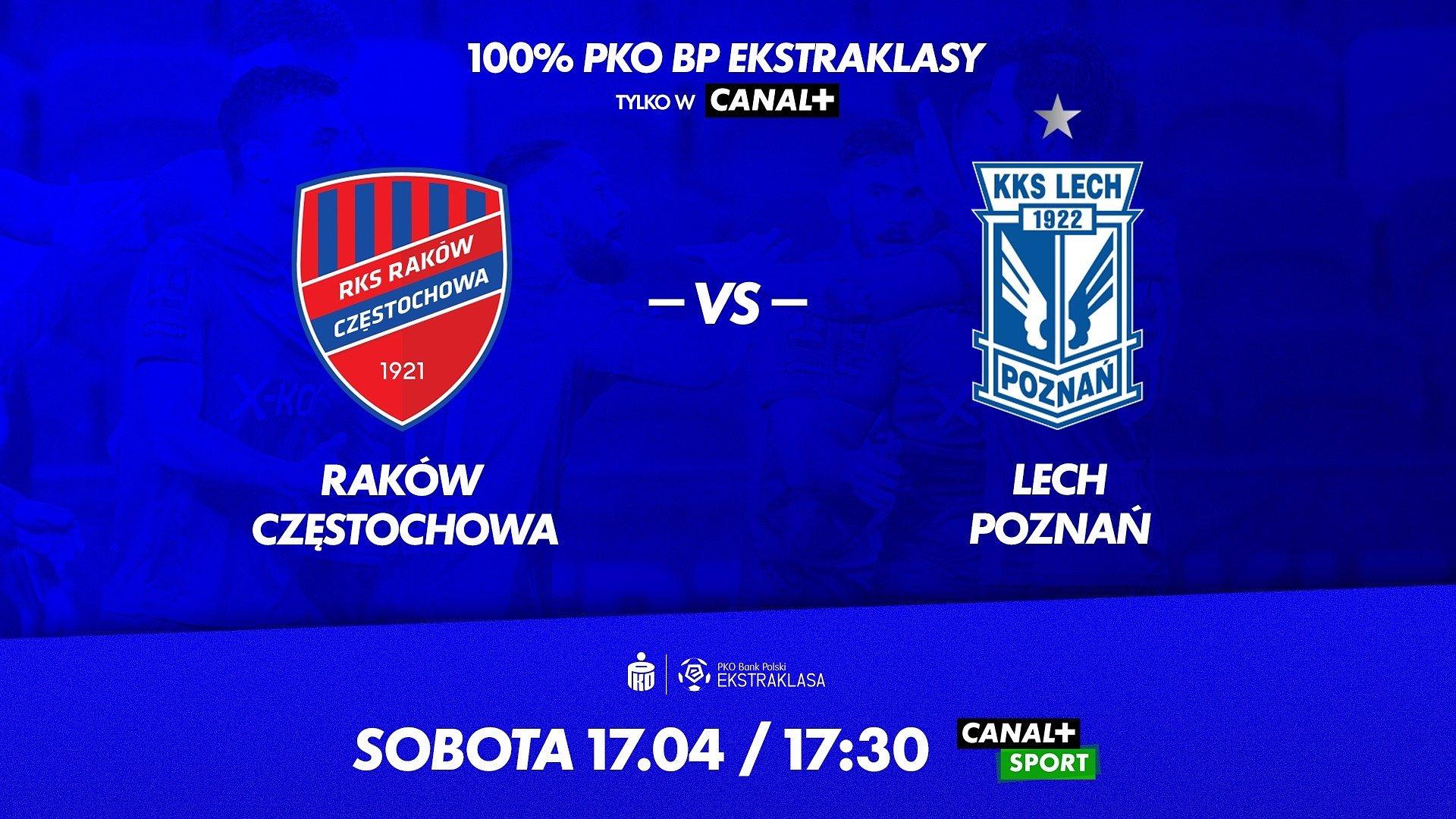 PKO Bank Polski Ekstraklasa wkracza w decydującą fazę. Zapowiedź transmisji w CANAL+