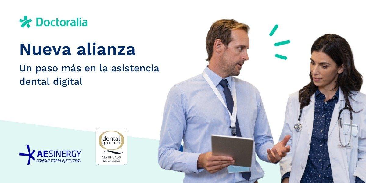 Doctoralia da un paso más en la asistencia dental digital con la firma de un convenio con AESINERGY