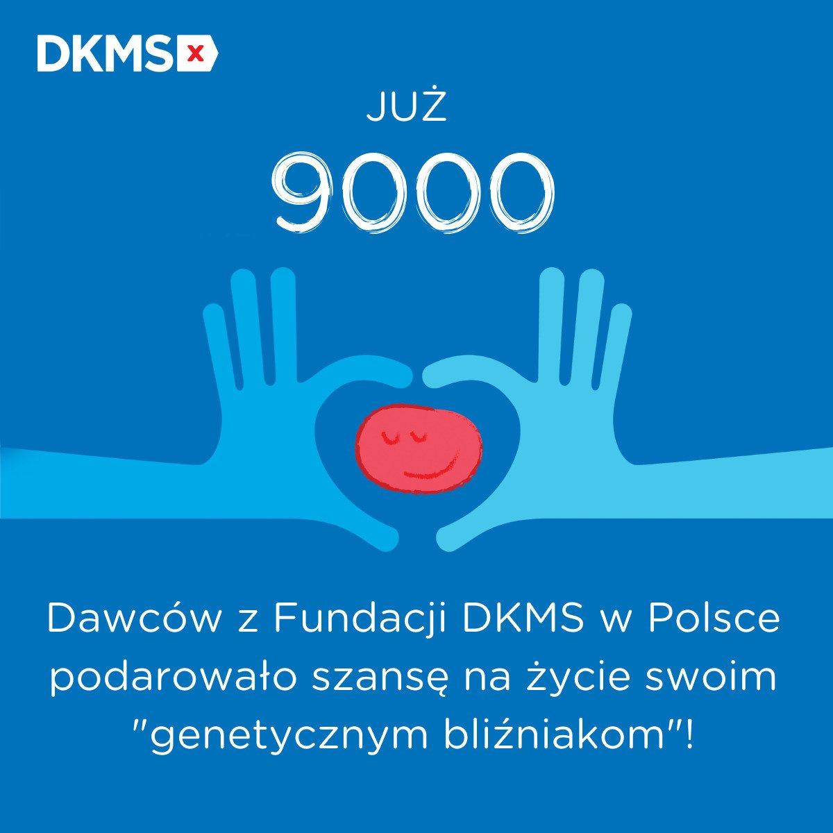 9-tysięczny Dawca faktyczny z bazy Fundacji DKMS! Kolejna szansa na życie dzięki idei dawstwa szpiku
