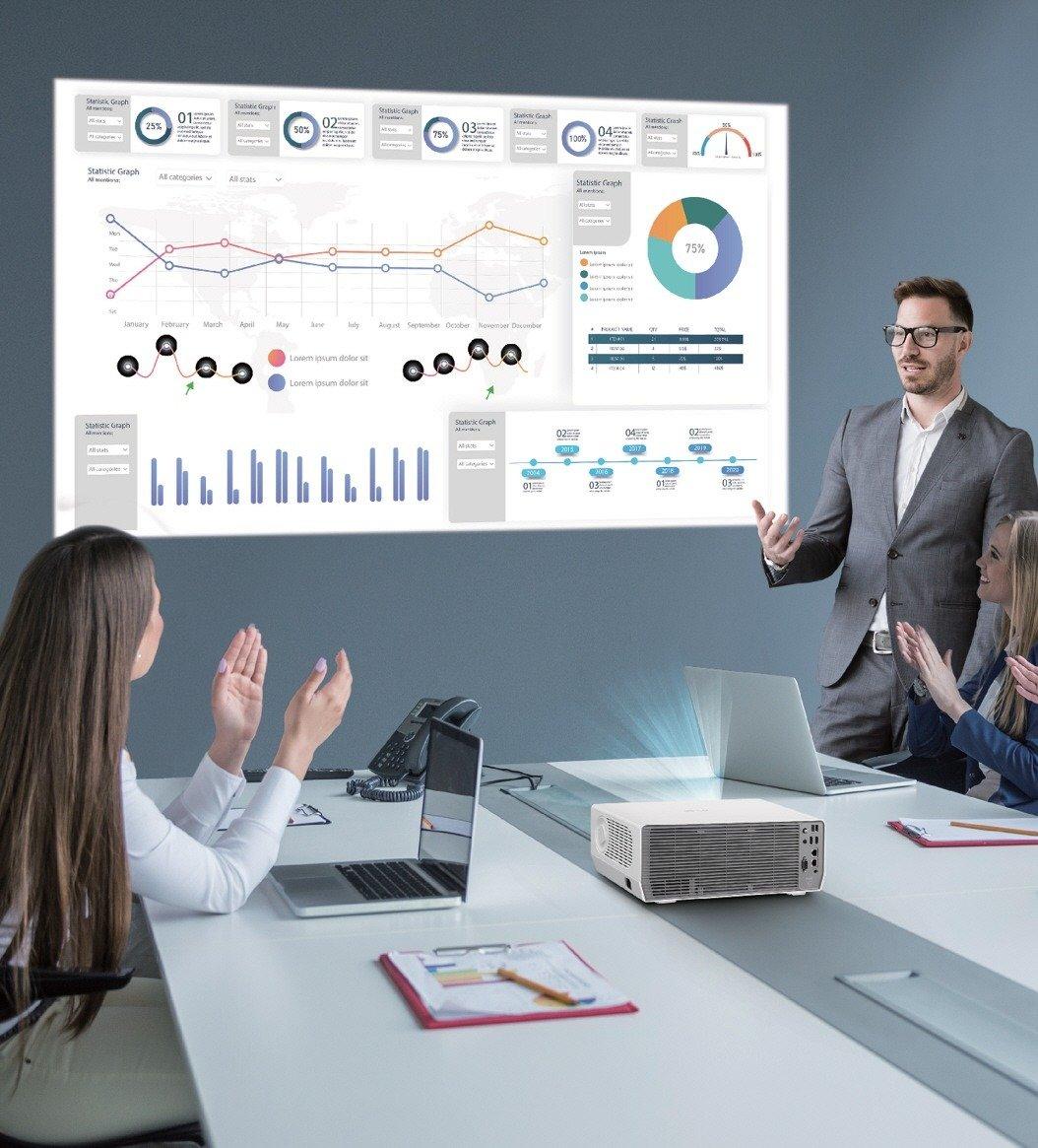 Nowe projektory biznesowe ProBeam w ofercie LG. Jeszcze lepsza wydajność i wygoda użytkowania