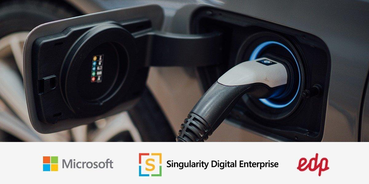 Dashboard desenvolvido pela Microsoft e Singularity para a EDP reconhecido internacionalmente