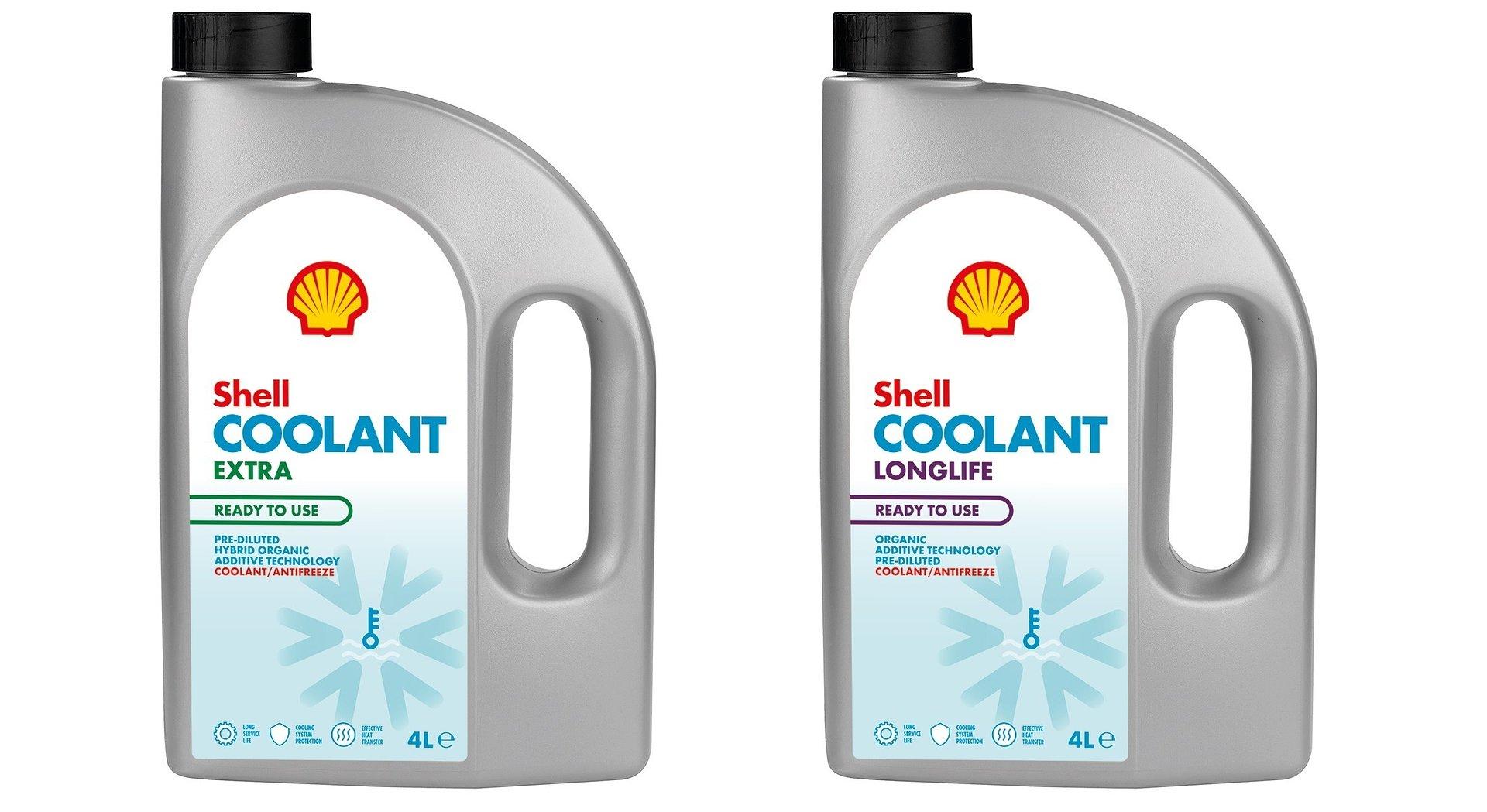 Shell Coolant – nowa linia płynów do chłodnic Shell