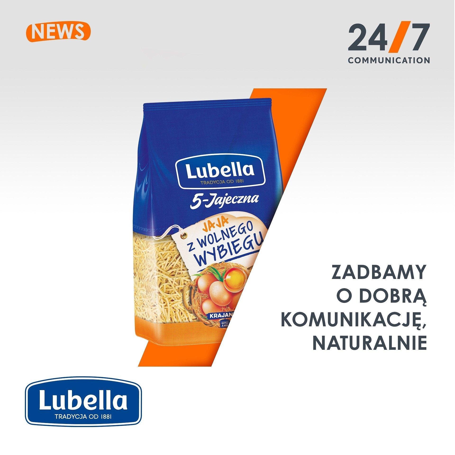 Lubella nowym klientem 24/7Communication