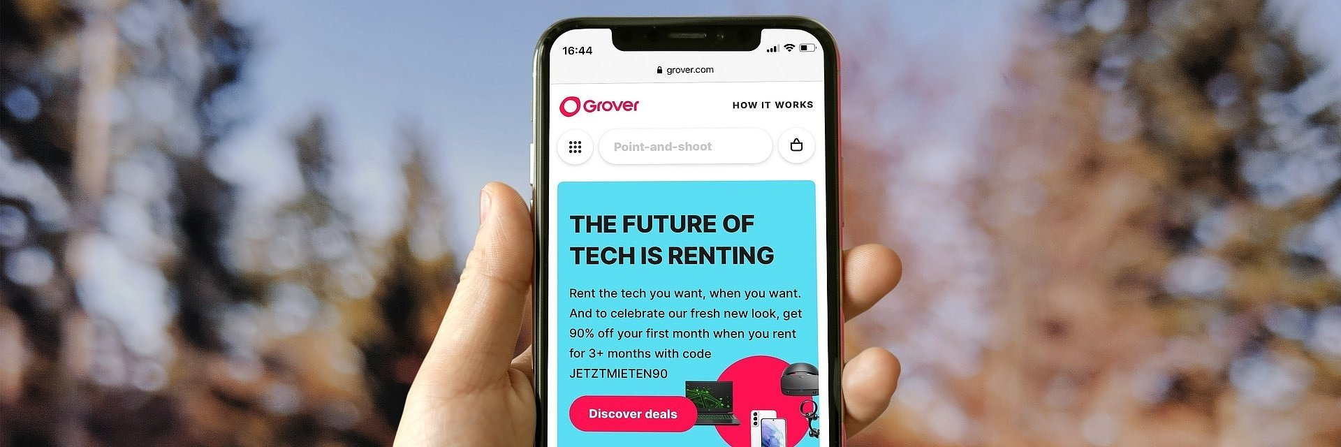 Grover rings in the new year with €250M funding deal