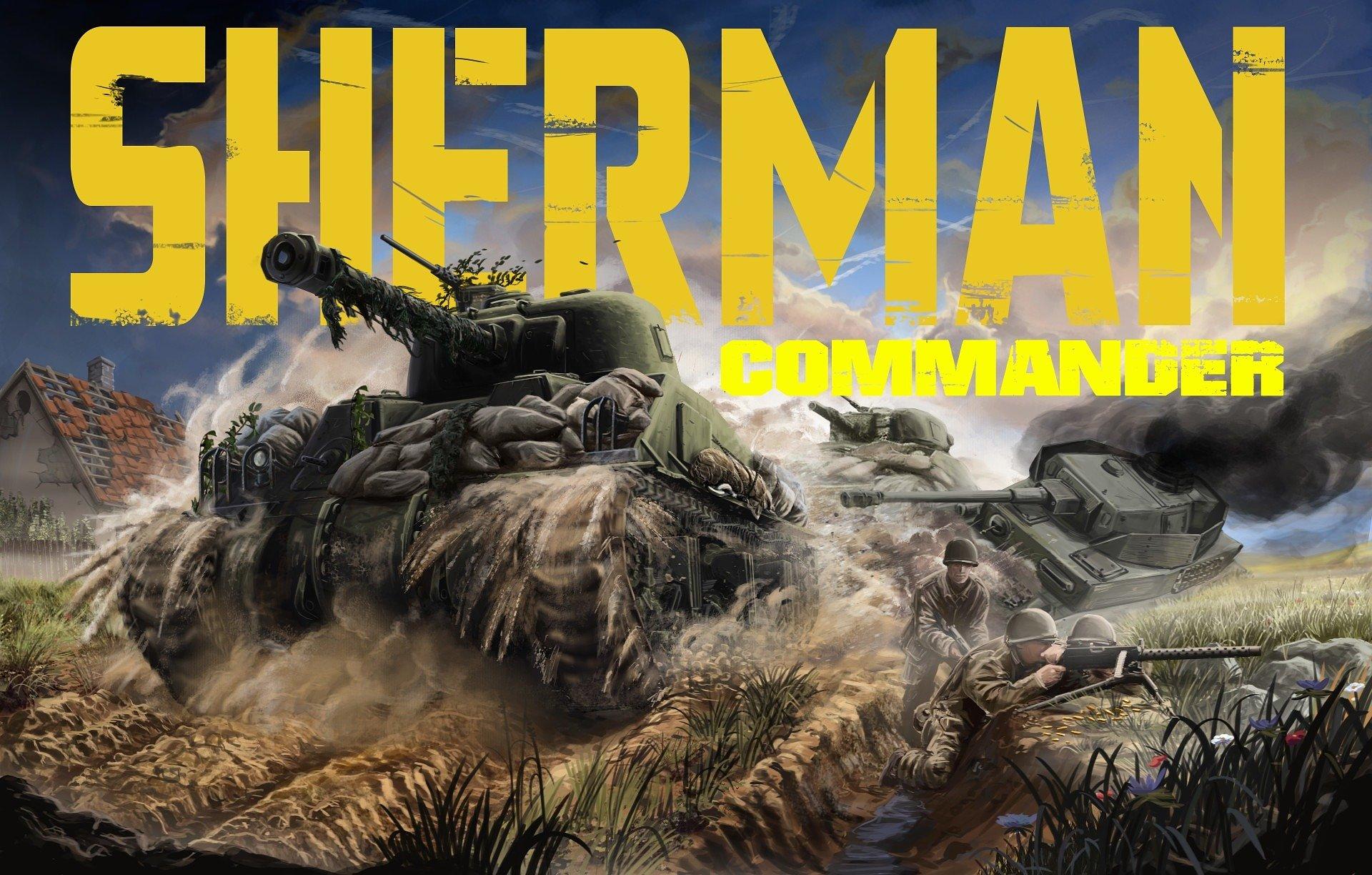 """""""Wyprujemy z nich flaki i nasmarujemy nimi gąsienice czołgów"""". Sherman Commander to gra o czołgach, które właśnie miał na myśli gen. Patton"""