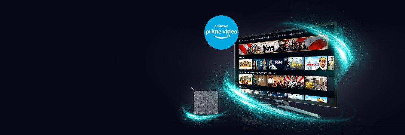 Użytkownicy UPC 4K TV Box mają dostęp do aplikacji Amazon Prime Video